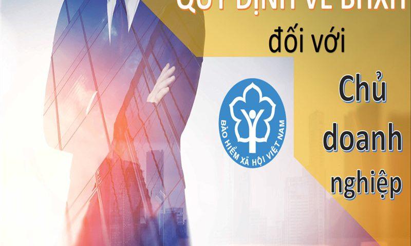Quy định về BHXH đối với quản lý doanh nghiệp
