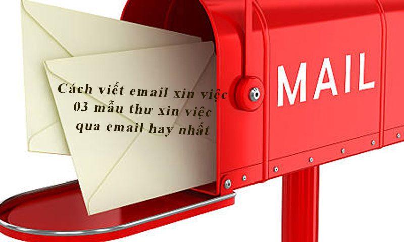 Cách viết email xin việc chuyên nghiệp
